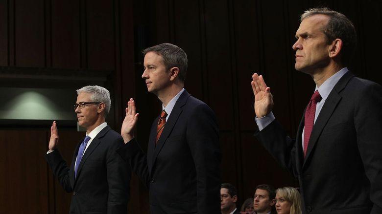 Google, Facebook y Twitter declaran ante comisión del senado estadounidense
