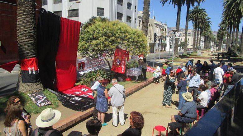 """Jornada de memoria por el """"grupo de los 8 del MIR"""" en Valparaíso"""