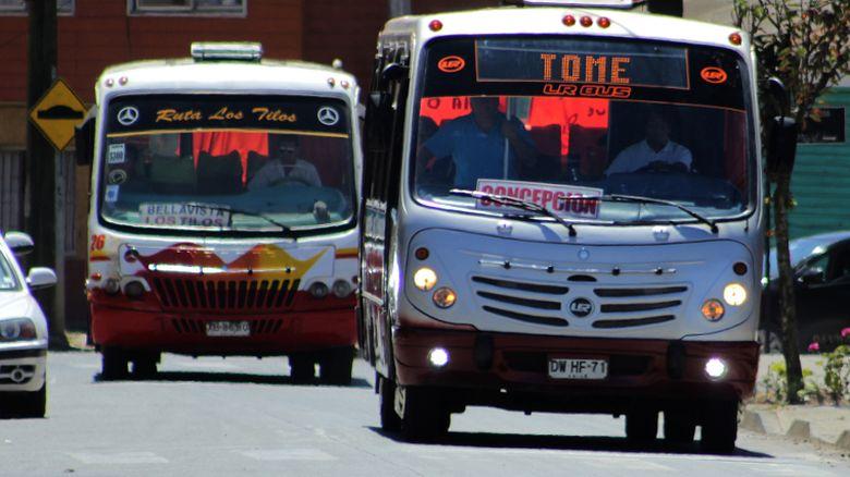 Tomecinos anuncian acciones ante nueva alza en el transporte interurbano