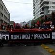 Realizan multitudinaria marcha este Día Internacional de la Mujer en Concepción [FOTOS]