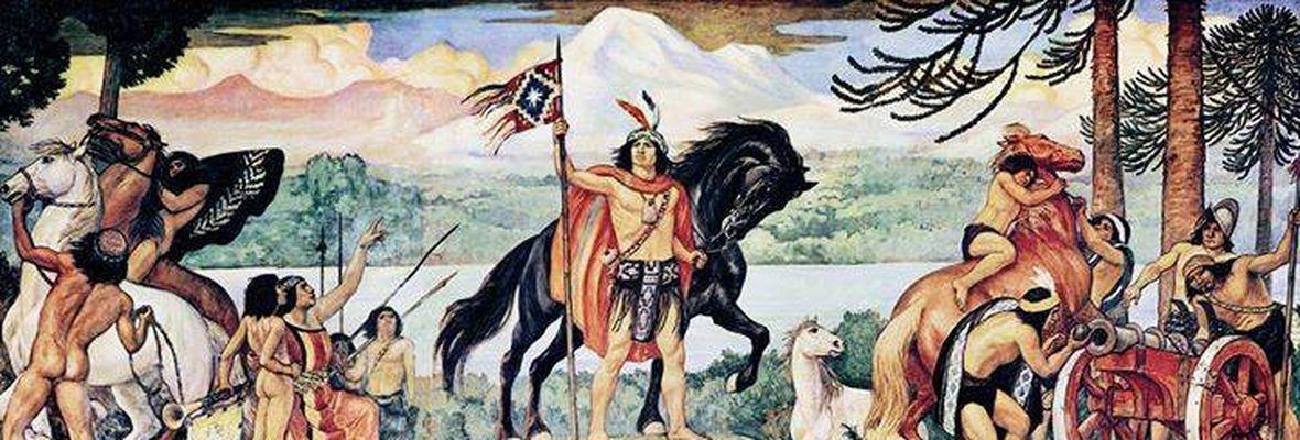 Batalla de Marihueñu, la épica victoria de los mapuches ante los españoles en Chivilingo el 23 de febrero de 1554