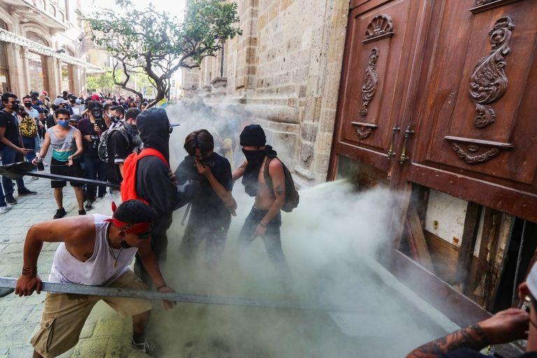 Protesta Guadalajara