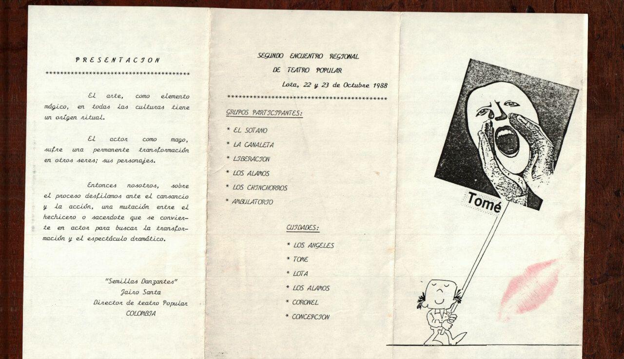 1988 - La canaleta - portada - Gentileza de Mary Vega