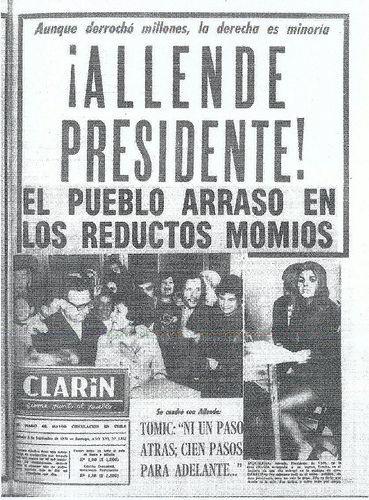 Portada de El Clarín